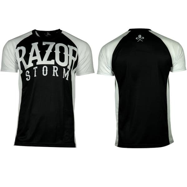 Rugby Top PRT110 Black/White