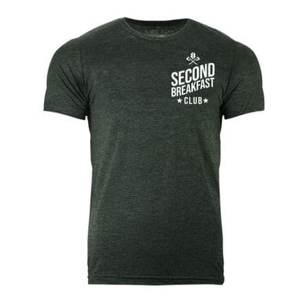 S418 Second Breakfast Club T-shirt Heather Forest