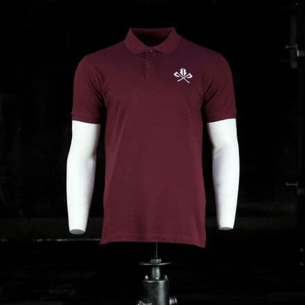 Vintage Cotton Polo  - Burgundy