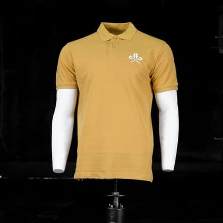 Vintage Cotton Polo  - Mustard
