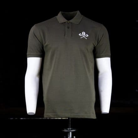 Vintage Cotton Polo  - Olive