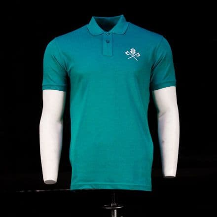 Vintage Cotton Polo  - Teal