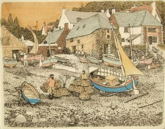 Andre Ellis; Cadgwith, Cornwall