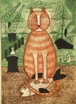 Andrew James Jowett Murray; Harbour Cat, 1981