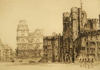 Frederick Arthur Farrell; St. James Palace; Changing of the Guard