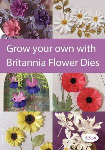 Britannia Flower Making Books By Pink Frog Crafts