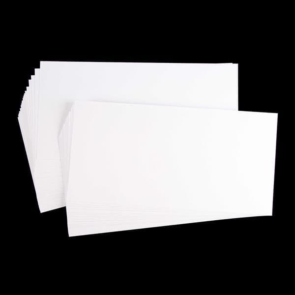 Ice White Unscored Card 300gsm 20cm x 40cm