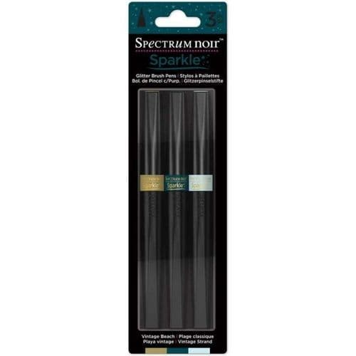 Spectrum Noir Sparkle Pens 3 Pack - Vintage Beach