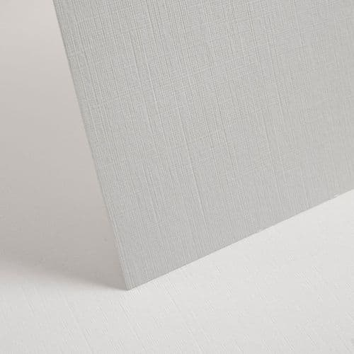 White Linen Card 300gsm 10 A4 Sheets
