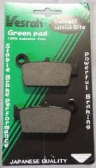 Aprilia RXV / SXV Rear Brake Pads by Vesrah VD271