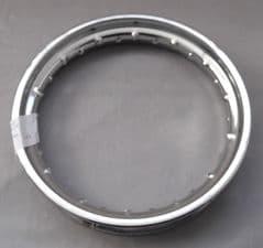 DB Motors Chromed Steel Wheel Rim 10