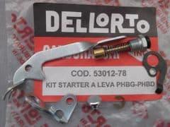 Genuine Dellorto PHBD PHBG Choke Lever Kit 53012