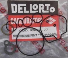 Genuine Dellorto PHBN / PHVA Gasket set 52622