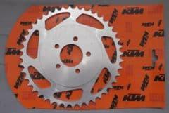 Genuine KTM 50 SX Rear Sprocket 44 teeth 45110051044 Kettenrad Corona