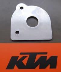 Genuine KTM Rear Footrest Detent Plate LH 60003152000