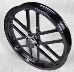 Genuine Kymco CK1 Front Wheel - Black 4460A-LKH3-C00-N1A