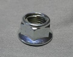 Genuine Kymco Flanged Nut 10mm - Chrome 90304-LBD4-900