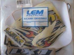 Genuine LEM LX1 (2004) Complete Decal Set 00050/LX12004