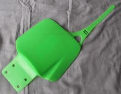 Genuine LEM LX1 / LX2 Front Number Plate Board Panel - Green 0973400920V