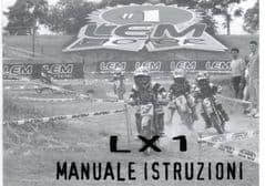 Genuine LEM LX1 Owners Manual - Use & Maintenance Handbook 0975/200052