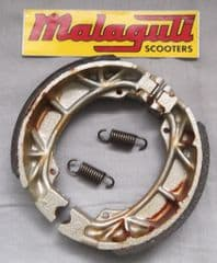 Genuine Malaguti Centro Ciak F10 F12 F15 Yesterday Rear Brake Shoe Kit 119.403.00