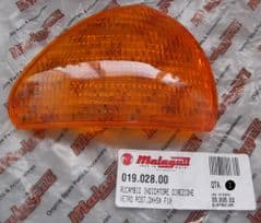 Genuine Malaguti Centro F10 LH Left Rear Indicator Amber Lens 019.028.00L