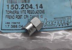 Genuine Malaguti  Crosser Rear Brake Cable Adjuster Nut 150.204.14