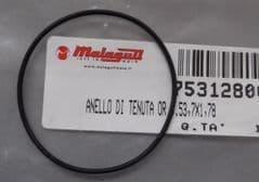 Genuine Malaguti F12 Phantom F15 Fire Fox Water Pump Gasket O-ring 753.128.00