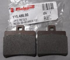 Genuine Malaguti F18 Warrior Madison Phantom Max Rear Brake Pads 119.486.00