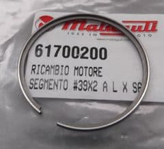 Genuine Malaguti Grizzly 10 / 12 Piston Ring 39mm x 2mm L (Dykes type) 617.002.00