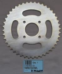Genuine Malaguti Grizzly 10 Rear Sprocket Steel 44 teeth 119.052.13