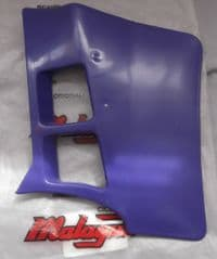 Genuine Malaguti Grizzly RCX10 Fuel Tank Duct Spoiler - Violet (Right) 062.048.06DX