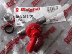 Genuine Malaguti Grizzly RCX10 RCX12 Fuel tap with Red Disc - 093.013.00