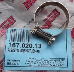 Genuine Malaguti Grizzly RCX12 Exhaust Joint Hose Clamp 167.020.13