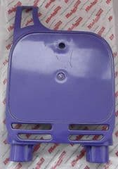 Genuine Malaguti Grizzly RCX12 Front Number Plate Board Panel - Violet 059.014.06