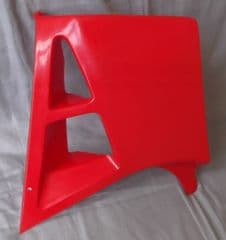 Genuine Malaguti Grizzly RCX12 Fuel Tank Duct Spoiler - Red (Right) 062.052.01DX
