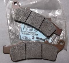 Genuine Malaguti Madison 250 400 Front Brake Disc Pads 119.481.00