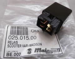 Genuine Malaguti Madison Starter Relay 12V 20A 025.015.00