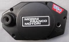 Genuine Morini Franco Motori 4-speed UC4 Clutch Cover - Black Finish 12.4057