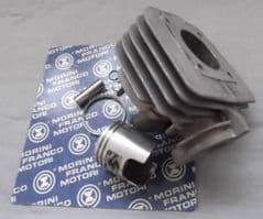 Genuine Morini Franco Motori AH50 Air-cooled Aluminium Cylinder Barrel c/w Piston Kit 77.3778