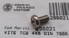 Genuine Morini Franco Motori GS / GSA Clutch Gear Backplate Screw 29.6021