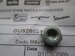 Genuine Moto Guzzi 350 500 650 750 Valve Adjuster Lock Nut M6x1 GU92602406