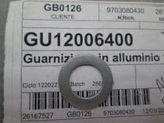 Genuine Moto Guzzi Aluminium Sealing Gasket Washer 12.25mm GU12006400