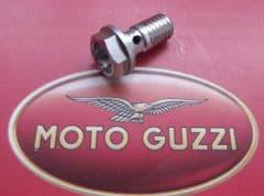 Genuine Moto Guzzi Fuel Hose Union Screw GU95990023