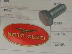 Genuine Moto Guzzi Hex Head Screw Geomet M6 x 14mm GU98084314