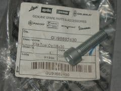 Genuine Moto Guzzi Hex Socket Cap Screw 8x30mm Geomet GU98682430
