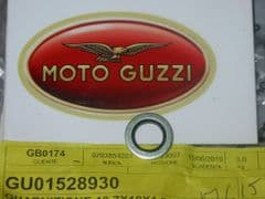 Genuine Moto Guzzi Oil Drain Plug Gasket Seal Dowty Washer 10.7mm GU01528930
