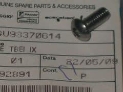 Genuine Moto Guzzi Stainless Hex Socket Button Head Screw M6 x 14mm GU98370614