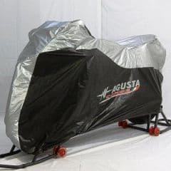 Genuine MV Agusta B4 / F4 Outdoor Bike Cover Grey / Black with Logo SPBCX001BF