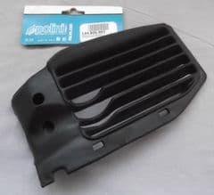 Genuine Polini Minicross 2002 LH Left Radiator Grille Guard Black 144.806.002